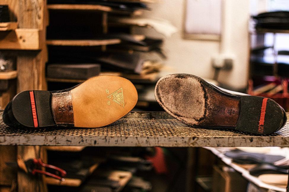 Schuhreparatur vorher_nachher